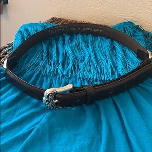 Accessories - Ladies leather belt